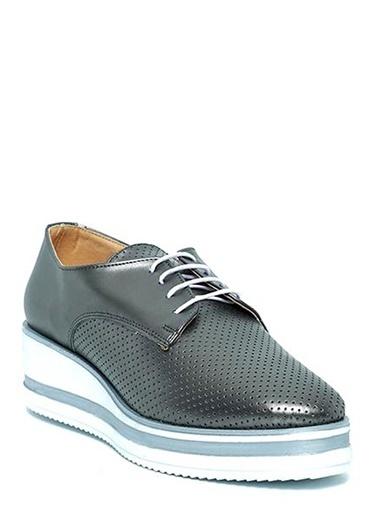 Kuum Dolgu Tabanlı Ayakkabı Gümüş